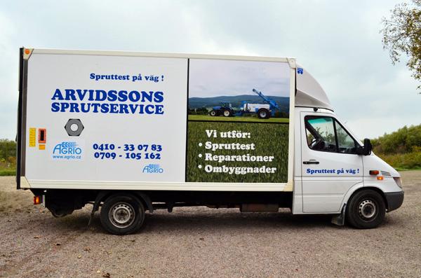 Välkommen till Arvidssons Sprutservice